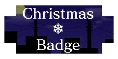 ChristmasBadge