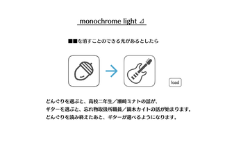 monochrome light ⊿